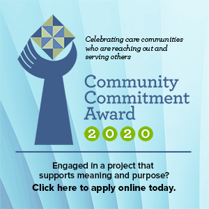 Community Commitment Award Applications are now being accepted