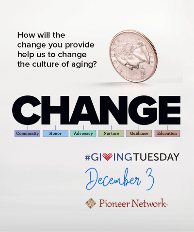 Giving Tuesday is December 3